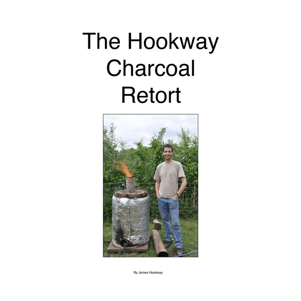 how to make a charcoal retort